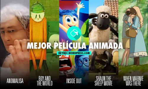 Nominados Oscars 2016 - 5 - pelicula animada